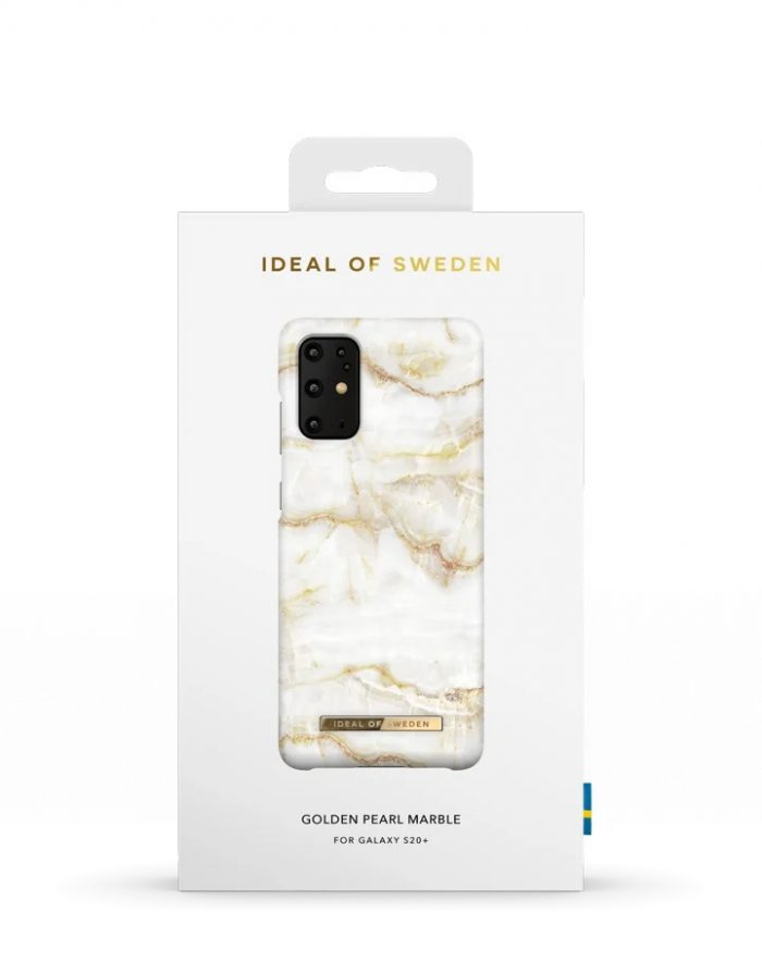 s20 plus - ideal of sweden fashion samsung galaxy s20+ plus (golden pearl marble) - 4 - krytarna.cz