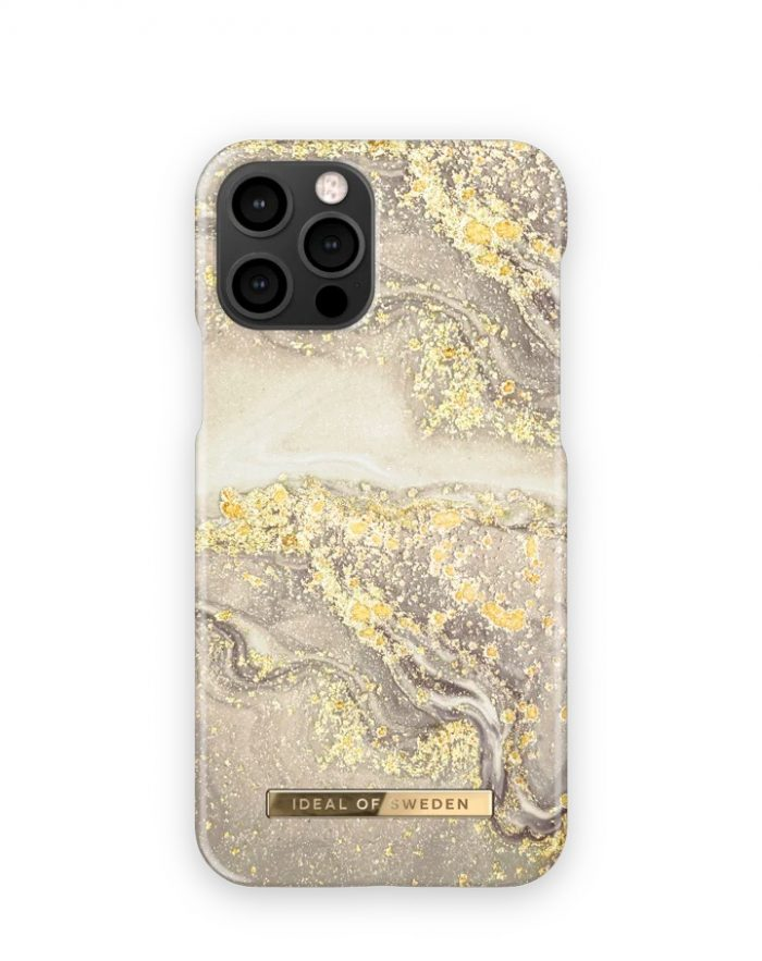 iphone 12 pro - ideal of sweden fashion apple iphone 12/12 pro (sparkle greige marble) - 1 - krytarna.cz