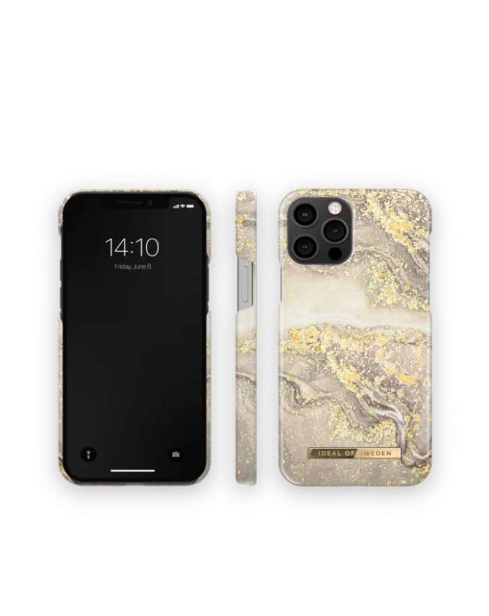 iphone 12 pro - ideal of sweden fashion apple iphone 12/12 pro (sparkle greige marble) - 3 - krytarna.cz