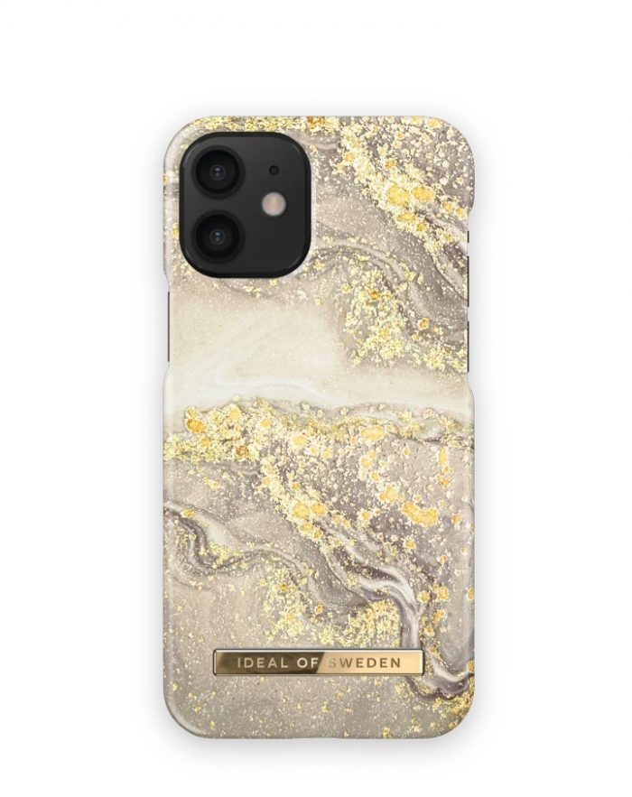 iphone 12 mini - ideal of sweden fashion apple iphone 12 mini (sparkle greige marble) - 1 - krytarna.cz