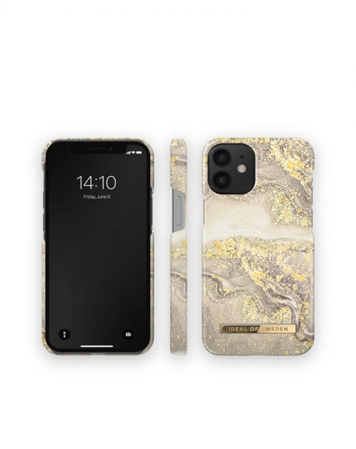 iphone 12 mini - ideal of sweden fashion apple iphone 12 mini (sparkle greige marble) - 3 - krytarna.cz