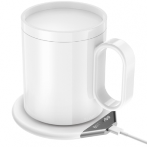 Wireless chargers - Blitzwolf BW-WCC1 Mug Warmer & Wireless Charging Pad - 1 - krytarna.cz