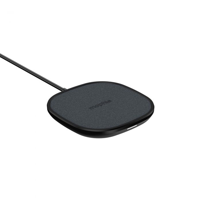wireless chargers - mophie wireless charging pad fast charge 15w (black) - 3 - krytarna.cz