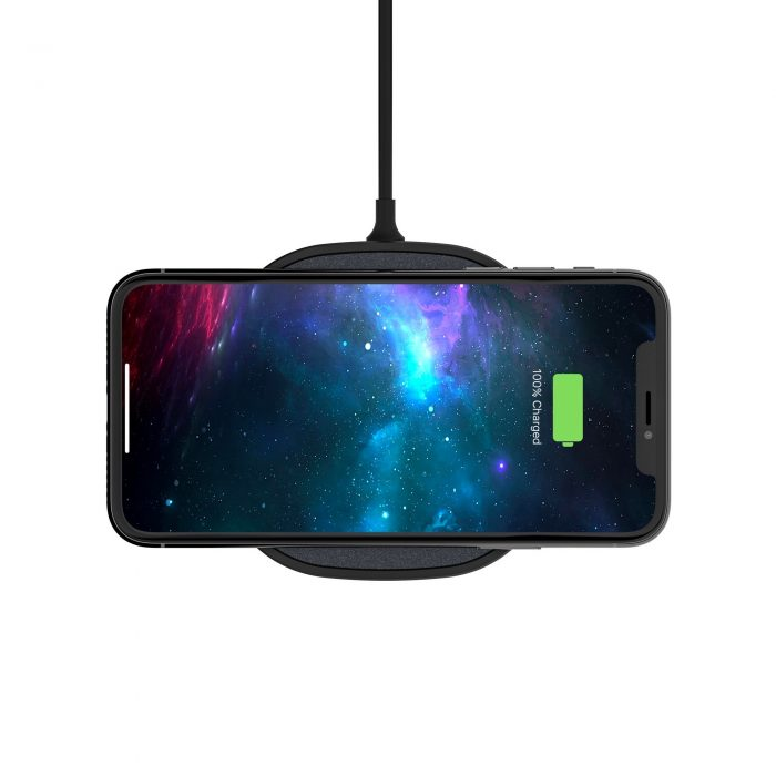 wireless chargers - mophie wireless charging pad fast charge 15w (black) - 4 - krytarna.cz