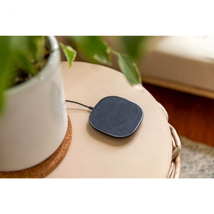 wireless chargers - mophie wireless charging pad fast charge 15w (black) - 5 - krytarna.cz