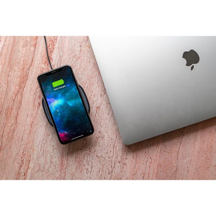 wireless chargers - mophie wireless charging pad fast charge 15w (black) - 6 - krytarna.cz