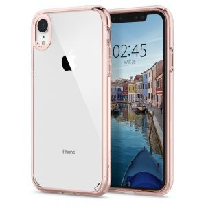 iPhone XR - Spigen Ultra Hybrid Apple iPhone XR Rose Crystal - 1 - krytarna.cz