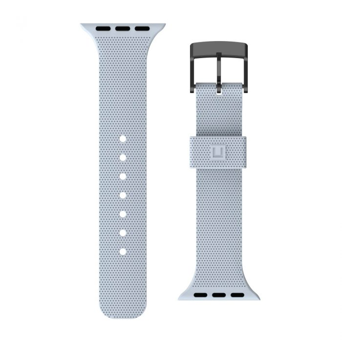 apple watch - uag urban gear armor dot [u] strap apple watch 4/5/6/se 42/44mm (soft blue) - 3 - krytarna.cz