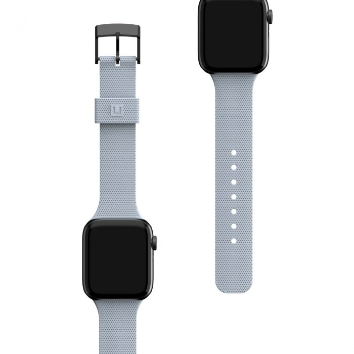 apple watch - uag urban gear armor dot [u] strap apple watch 4/5/6/se 42/44mm (soft blue) - 5 - krytarna.cz