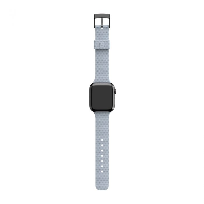 apple watch - uag urban gear armor dot [u] strap apple watch 4/5/6/se 42/44mm (soft blue) - 6 - krytarna.cz