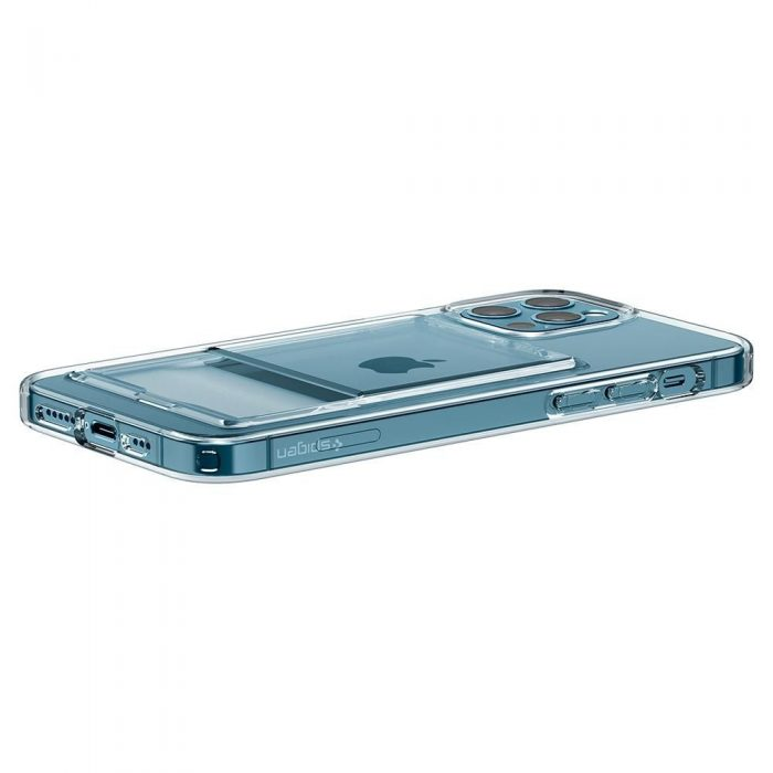 iphone 12 pro max - spigen crystal slot apple iphone 12 pro max crystal clear - 8 - krytarna.cz