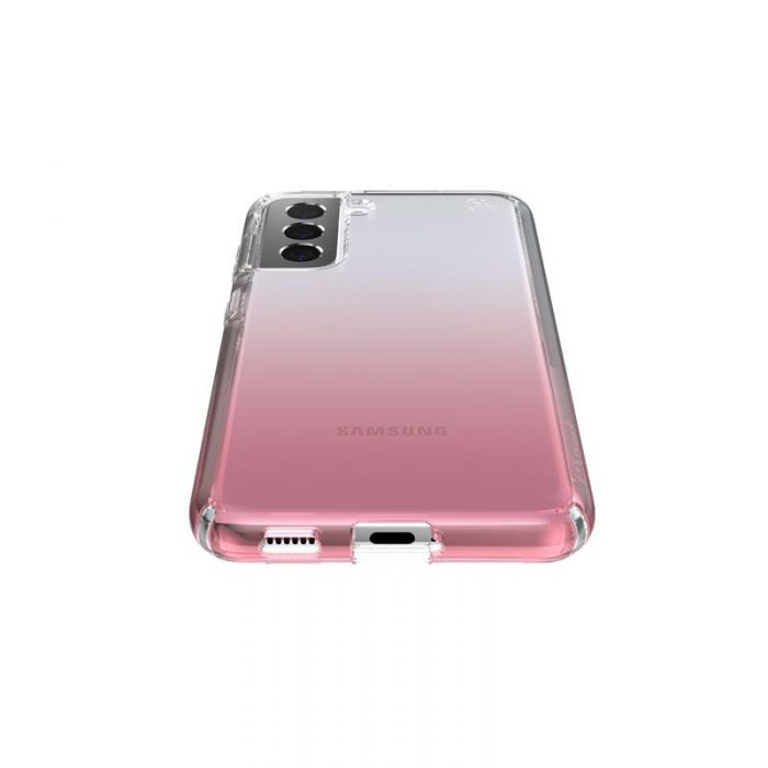 s21 - speck presidio perfect-clear + ombre - case samsung galaxy s21 with microban (clear/atmosphere fade) - 3 - krytarna.cz