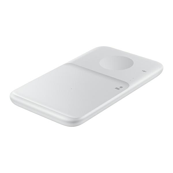 wireless chargers - samsung duo wireless charger ep-p4300tw white - 2 - krytarna.cz