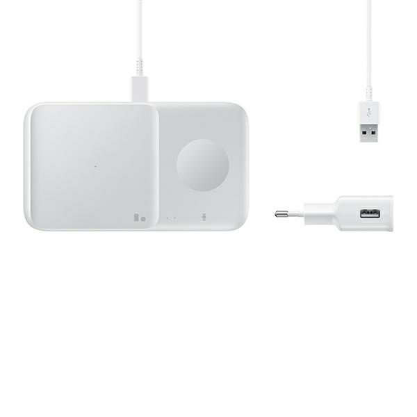 wireless chargers - samsung duo wireless charger ep-p4300tw white - 6 - krytarna.cz