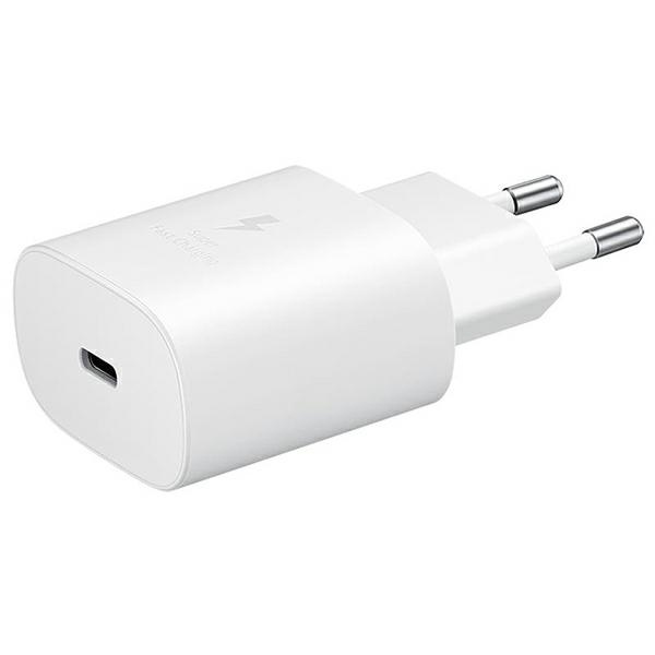 wall chargers - samsung wall charger ep-ta800nw pd 25w usb-c white - 1 - krytarna.cz