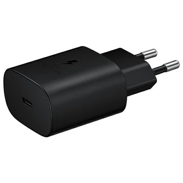 wall chargers - samsung wall charger ep-ta800nb pd 25w usb-c black - 1 - krytarna.cz