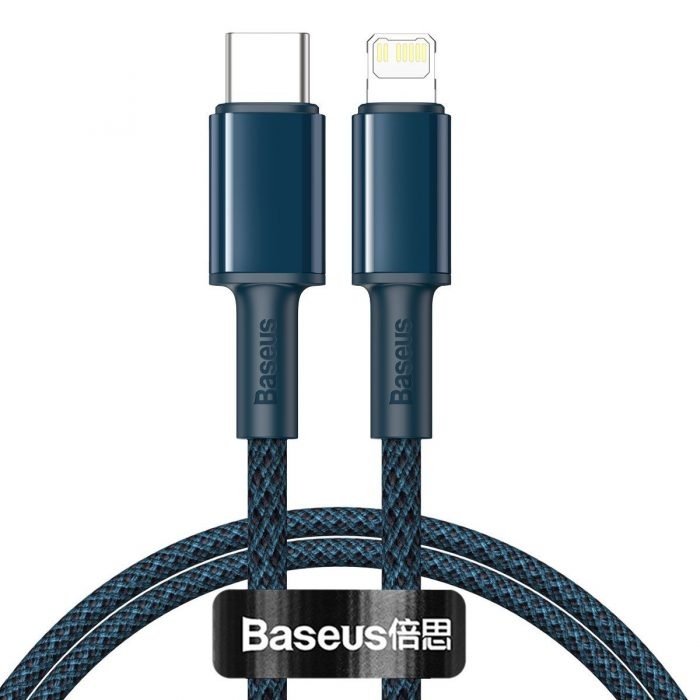 usb-c - lightning - baseus high density braided cable type-c to lightning