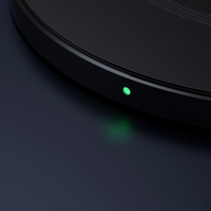 wireless chargers - baseus simple 15w wireless induction charger with magnet (black) - 7 - krytarna.cz
