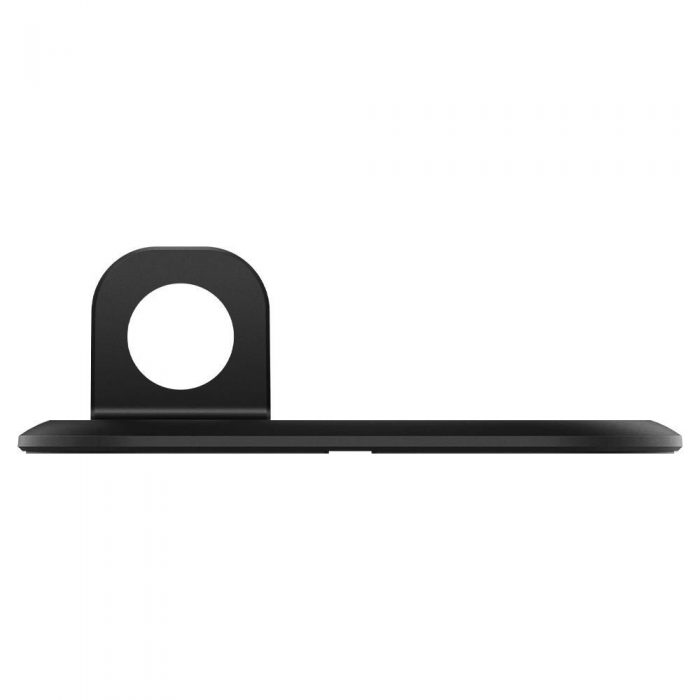 wireless chargers - spigen magfit duo apple magsafe & apple watch charger stand black - 5 - krytarna.cz