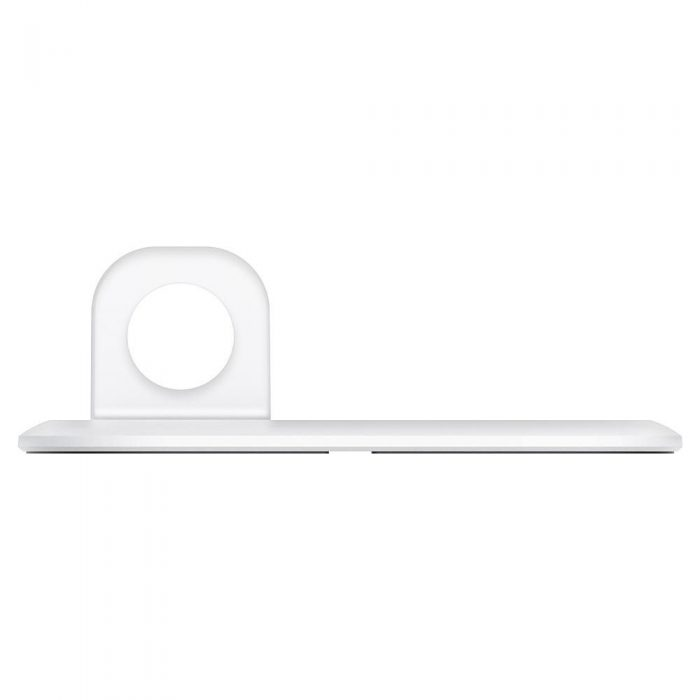 wireless chargers - spigen magfit duo apple magsafe & apple watch charger stand white - 5 - krytarna.cz