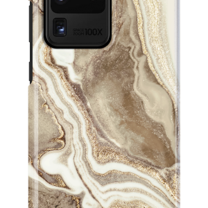 S20 Ultra - iDeal of Sweden Fashion Samsung Galaxy S20 Ultra (Golden Sand Marble) - 1 - krytarna.cz
