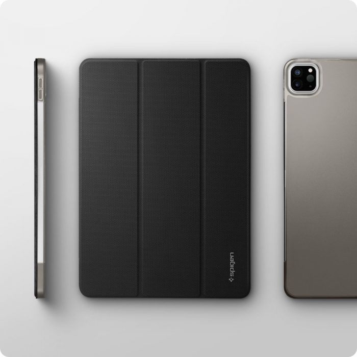 2020) - spigen liquid air folio apple ipad pro 12.9 2021 black - 5 - krytarna.cz