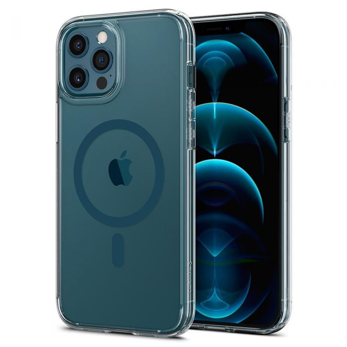iphone 12 pro max - spigen ultra hybrid mag magsafe apple iphone 12 pro max pacific blue - 1 - krytarna.cz