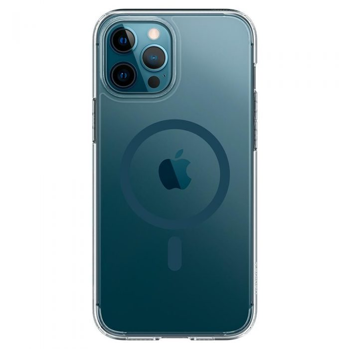 iphone 12 pro max - spigen ultra hybrid mag magsafe apple iphone 12 pro max pacific blue - 4 - krytarna.cz