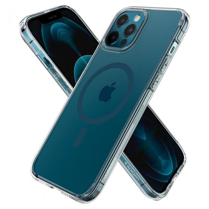 iphone 12 pro max - spigen ultra hybrid mag magsafe apple iphone 12 pro max pacific blue - 6 - krytarna.cz