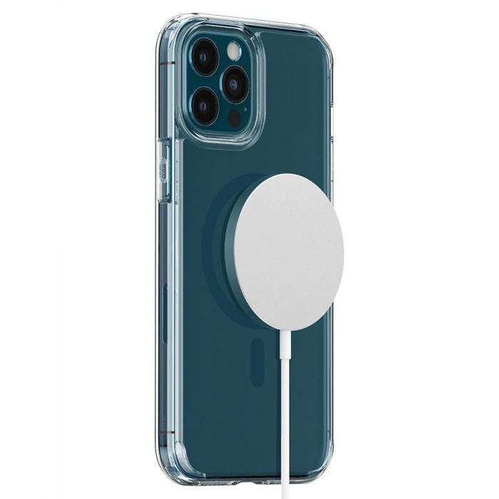 iphone 12 pro max - spigen ultra hybrid mag magsafe apple iphone 12 pro max pacific blue - 8 - krytarna.cz