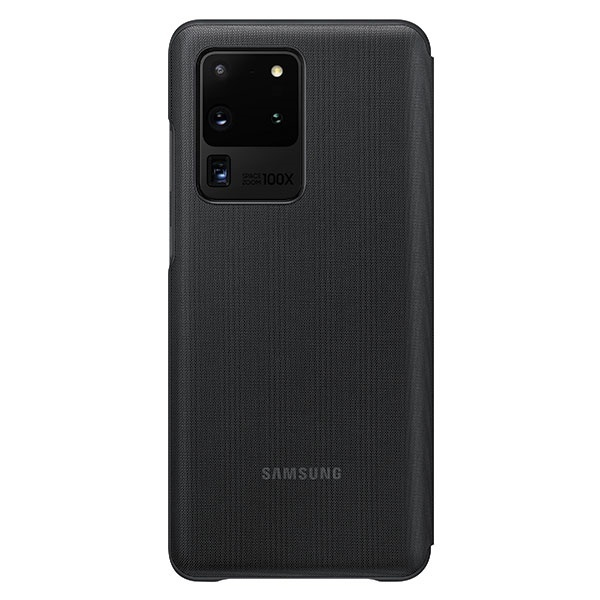 s20 ultra - samsung galaxy s20 ultra ef-ng988pb black led view cover - 2 - krytarna.cz