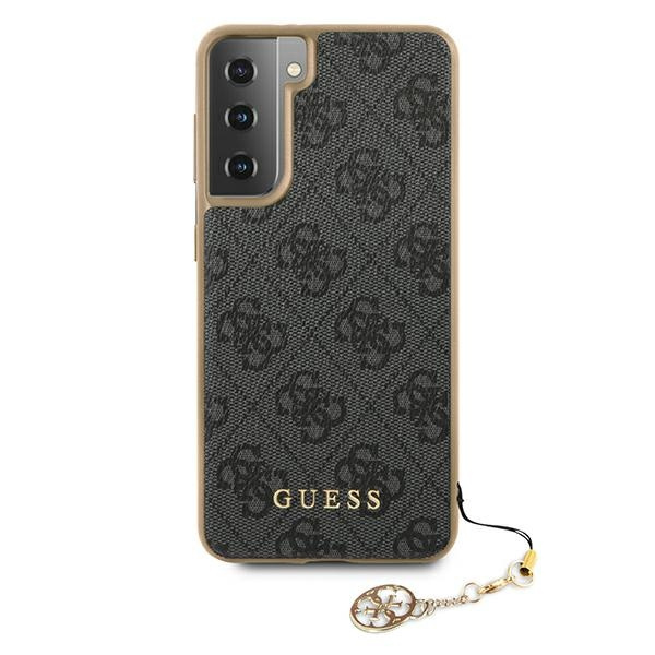 s21 plus - guess guhcs21mgf4ggr samsung galaxy s21+ plus grey hardcase 4g charms collection - 3 - krytarna.cz