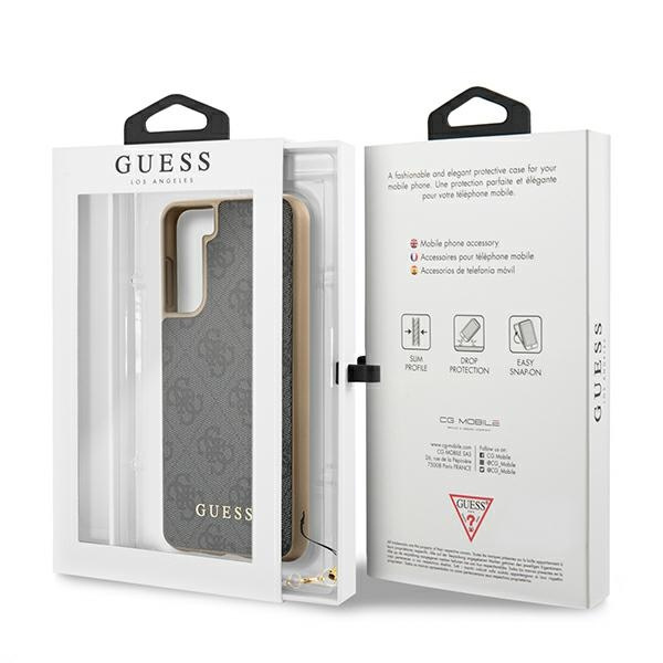 s21 plus - guess guhcs21mgf4ggr samsung galaxy s21+ plus grey hardcase 4g charms collection - 8 - krytarna.cz