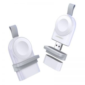 Wireless chargers - Ugreen Apple Watch USB MFI wireless charger white (50944) - 1 - krytarna.cz