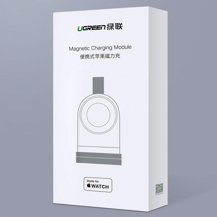 ugreen apple watch usb mfi wireless charger white (50944) - export 784