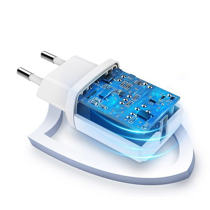 1a wall charger white (50460) - 3 - krytarna.cz