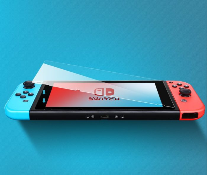 ugreen 2x tempered glass for nintendo switch transparent (50728) - export 828