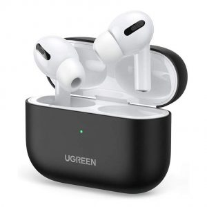 AirPods - Ugreen Silica Gel Case Protector for Apple Airpods Pro black (80513) - 1 - krytarna.cz