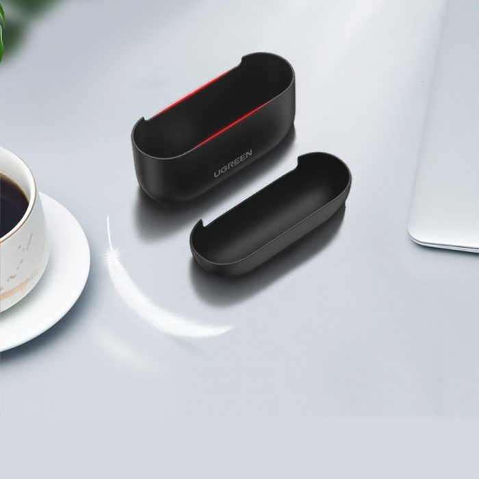 airpods - ugreen silica gel case protector for apple airpods pro black (80513) - 5 - krytarna.cz