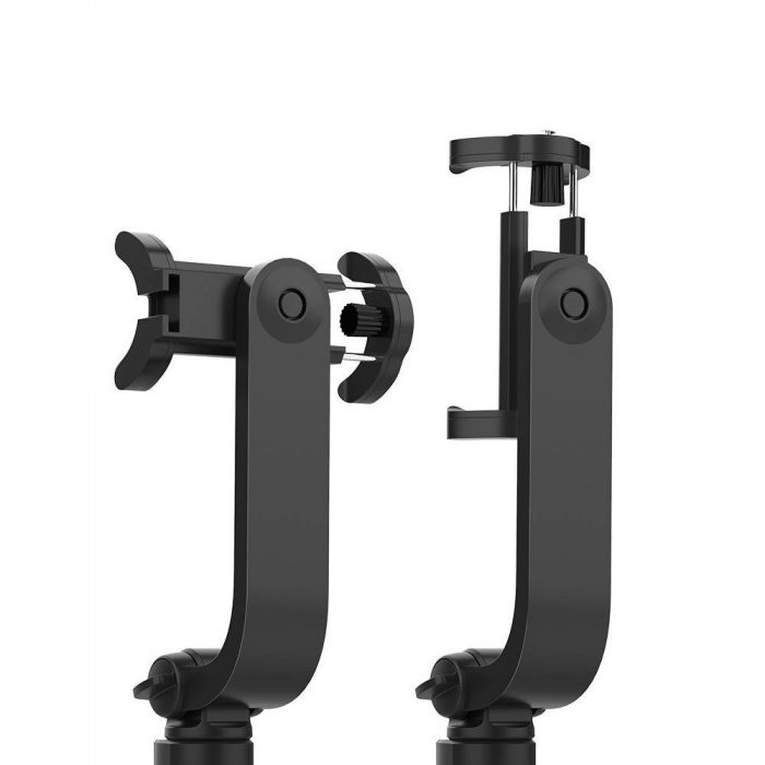 mounts - stable tripod selfie stick blitzwolf bw-bs15 with fill light and microphone - 3 - krytarna.cz