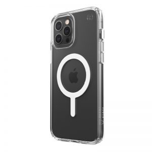 iPhone 12 Pro Max - Speck Presidio Perfect Clear + Magsafe Apple iPhone 12 Pro Max case with MICROBAN (Clear) - 1 - krytarna.cz