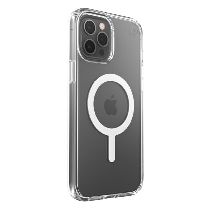 iphone 12 pro max - speck presidio perfect clear + magsafe apple iphone 12 pro max case with microban (clear) - 2 - krytarna.cz
