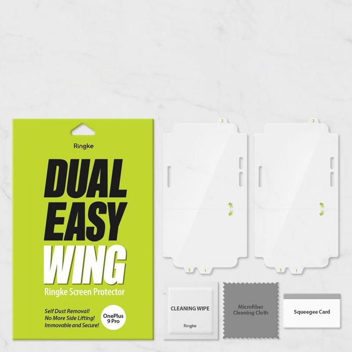 oneplus 9 pro - ringke dual easy wing full cover oneplus 9 pro [2 pack] - 7 - krytarna.cz