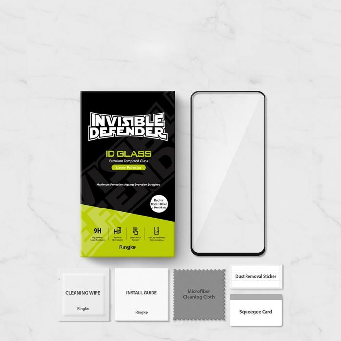ringke id glass redmi note 10 pro/10 pro max full cover - export 585