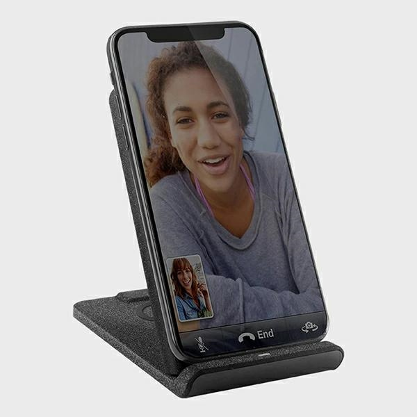 wireless chargers - uniq wireless charger vertex duo 2in1 15w fast charge charcoal grey - 4 - krytarna.cz