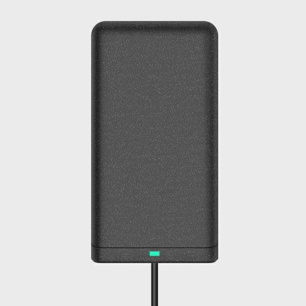 wireless chargers - uniq wireless charger vertex duo 2in1 15w fast charge charcoal grey - 5 - krytarna.cz