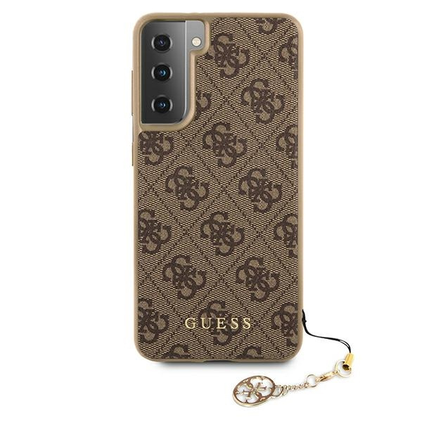 s21 plus - guess guhcs21mgf4gbr samsung galaxy s21+ plus brown hardcase 4g charms collection - 3 - krytarna.cz
