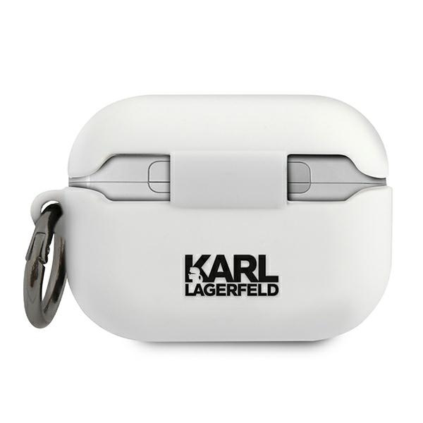 airpods - karl lagerfeld klacapsilchwh apple airpods pro cover white silicone choupette - 2 - krytarna.cz