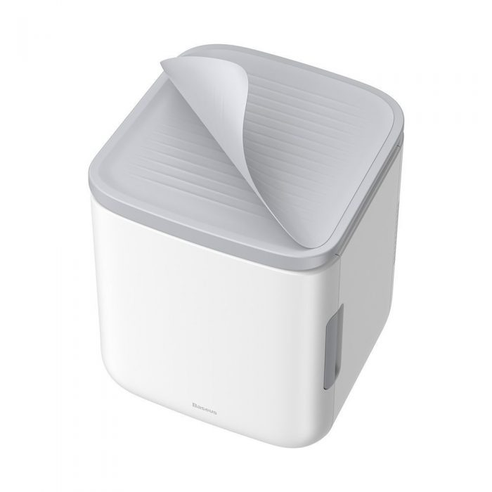 other accessories - baseus igloo mini fridge for students 6l eu (cooler and warmer) (acxbw-a02) white - 4 - krytarna.cz