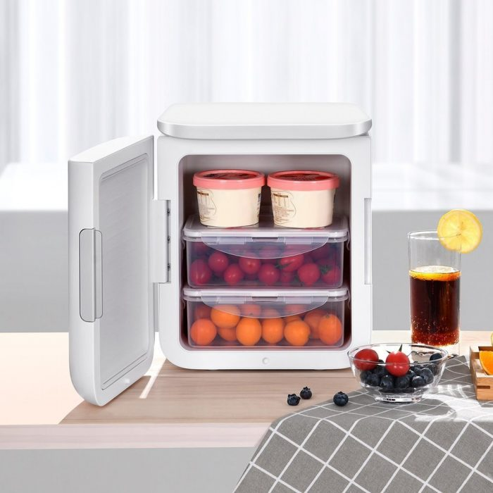 other accessories - baseus igloo mini fridge for students 6l eu (cooler and warmer) (acxbw-a02) white - 8 - krytarna.cz